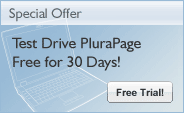Special Offer - Test Drive PluraPage Free for 30 Days!